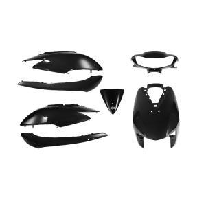 高品質 ホンダ ディオ AF62 AF68 外装セット 7点 黒 ブラック 新品 Dio カウルセット バイクパーツセンター|bike-parts-center