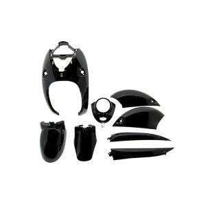 ヤマハ 4ストビーノ SA26J SA37J 外装セット 8点 黒 ブラック 新品 4st vino バイクパーツセンター|bike-parts-center