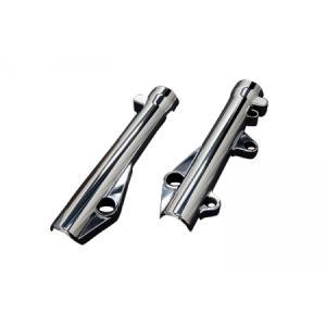 ホンダ PCX JF28 フロントフォークカバー メッキ 新品 バイクパーツセンター|bike-parts-center