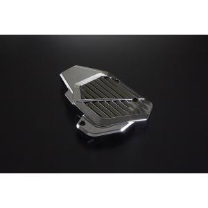 ホンダ PCX125/150 メッキラジエーターカバー JF56/KF18 eSPエンジン用 バイクパーツセンター|bike-parts-center