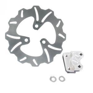ヤマハ ジョグ用 ブレーキディスクローター ウェーブ 200mm 24号 新品 バイクパーツセンター|bike-parts-center