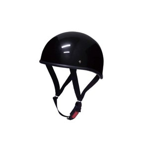 バイク用ヘルメット 黒 半キャップ( 半帽,半ヘル,ハーフキャップ,ハーフヘルメット )  原付・ス...
