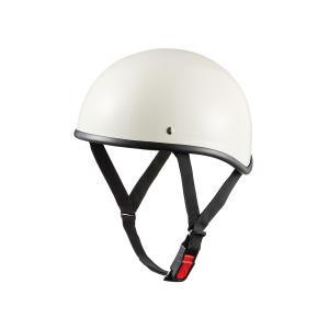 バイク用ヘルメット ダックテール ホワイト 半ヘル SG規格・PSCマーク取得 バイクパーツセンター|bike-parts-center