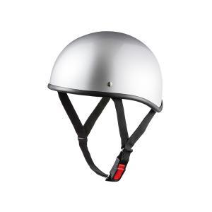 バイク用ヘルメット ダックテール シルバー 新品 半ヘル SG規格・PSCマーク取得 バイクパーツセンター|bike-parts-center