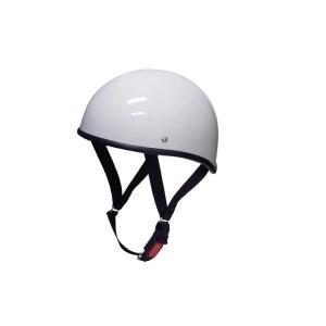 バイク用ヘルメット ダックテール ホワイト XL 半ヘル SG規格・PSCマーク取得 バイクパーツセンター|bike-parts-center