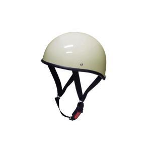 バイク用ヘルメット ダックテール アイボリー XL 半ヘル SG規格・PSCマーク取得 バイクパーツセンター|bike-parts-center