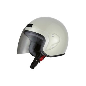 ヘルメット ジェット ホワイト ジェットヘルメット SG規格 PSCマーク取得 ワンタッチホルダー バイクパーツセンター|bike-parts-center