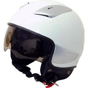 ヘルメット ARC シールド内蔵型ジェットヘルメット ホワイト 新品 バイクパーツセンター bike-parts-center