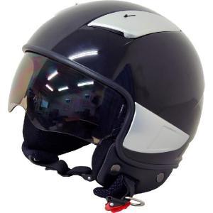 ヘルメット ARC シールド内蔵型ジェットヘルメット ブラック サイズXL 新品 バイクパーツセンター bike-parts-center