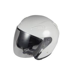 エアロフォルムジェットヘルメット ホワイト Lサイズ 【新ヘル】 バイクパーツセンター bike-parts-center