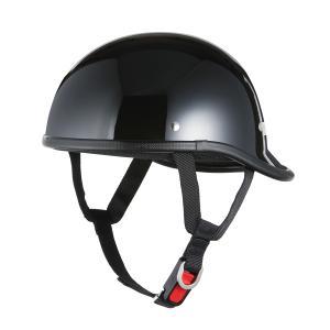 ロングダックテールヘルメット ブラック 新品 アメリカン・ストリート 半ヘル 半キャップ バイクパーツセンター|bike-parts-center