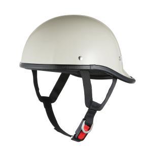 ロングダックテールヘルメット ホワイト 新品 アメリカン・ストリート 半ヘル 半キャップ バイクパーツセンター|bike-parts-center