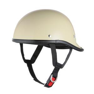 ロングダックテールヘルメット アイボリー 新品 アメリカン・ストリート 半ヘル 半キャップ バイクパーツセンター|bike-parts-center