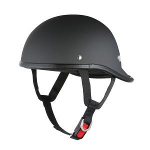 ロングダックテールヘルメット マットブラック 新品 アメリカン・ストリート 半ヘル 半キャップ バイクパーツセンター|bike-parts-center