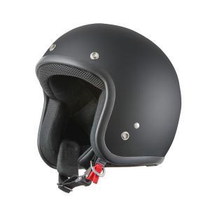 ヘルメット スモールジェット マットブラック 新品 57cm~60cm未満 ストリート・ハーレー・アメリカン バイクパーツセンター|bike-parts-center