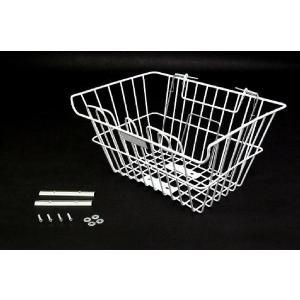 ホンダ スーパーカブ用フロントバスケット サイズM 新品前カゴ バイクパーツセンター|bike-parts-center