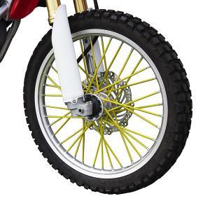 新品 スポークラップ 190mm 黄色 40本セット ホイール1本分 イエロー スポークスキン バイクパーツセンター|bike-parts-center