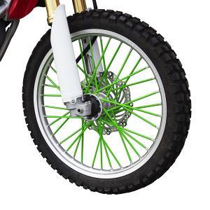 新品 スポークラップ 190mm 緑 40本セット ホイール1本分 グリーン スポークスキン バイクパーツセンター|bike-parts-center