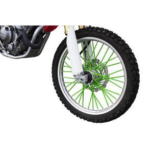 新品 スポークラップ 215mm 緑色 40本セット ホイール1本分 グリーン スポークスキン バイクパーツセンター|bike-parts-center