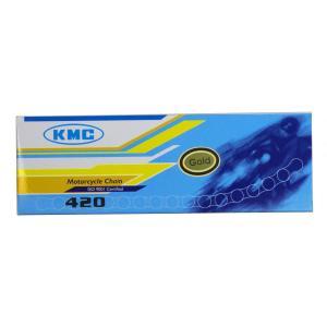 KMC バイク用ゴールドチェーン KSR110 エイプ50 NSR50 420-110 リンク数:1...