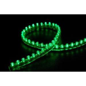 LEDチューブ 緑 24cm 新品 バイクパーツセンター|bike-parts-center