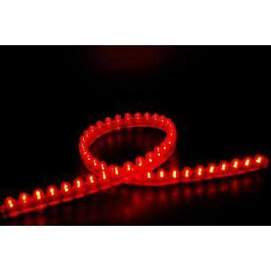 LEDチューブ 赤 24cm 5本セット 新品 バイクパーツセンター|bike-parts-center