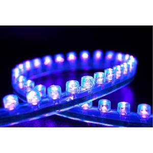 LEDチューブ ライトパープル 24cm 5本セット 新品 バイクパーツセンター|bike-parts-center