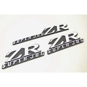 ヤマハ スーパージョグZR 立体エンブレム 新品 バイクパーツセンター|bike-parts-center