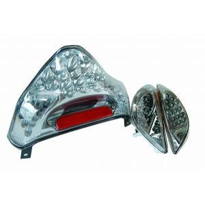 スズキ アドレスV125/G CF46A LEDテール ウインカーセット クリア 新品 バイクパーツセンター|bike-parts-center