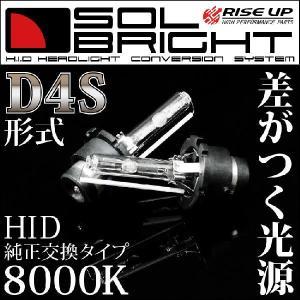 純正HID交換バルブ D4S 35W 8000K バーナー2本セット 保証付き バイクパーツセンター bike-parts-center