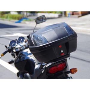 リアボックス トップケース 汎用 ツーカラーレンズ リアボックス エクスクルーシブ 32L|bike-world-walk|02