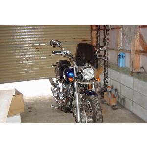 ドラッグスター400 WS-02W 汎用 スクリーン シールド 風防 バイク用 クリア スモーク|bike-world-walk