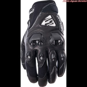 ファイブ STUNT EVO LEATHER BLACK L|bikebuhin
