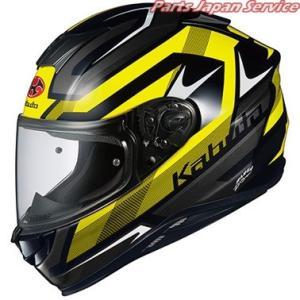 オージーケーカブト AEROBLADE-5 RUSH ブラックイエロー S|bikebuhin