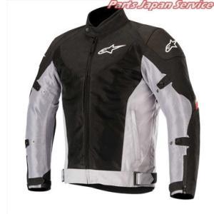 アルパインスターズ BAYSHORE AIR JACKET 131 BK GRAY RED S|bikebuhin