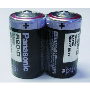 乾電池(黒)単一形R20NWC/2SK(SUM-1NG)|bikebuhin
