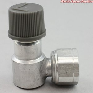 L型アダプター(7/16)低圧用 445040-0080 ヤマト自動車|bikebuhin