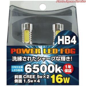 パワーLEDフォグ12V HB4 WFL-037 ウイングファイブ|bikebuhin