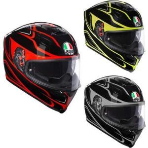 AGV K5 S Magnitude Helmet フルフェイスヘルメット サンバイザー オンロード...