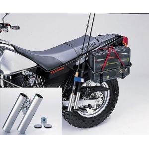 ・nリケーン HU1003S ロッドホルダータイプIII フレーム用 ステンレスポリッシュ|bikeman2