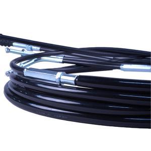 SR400 SR500 (88-00) ワイヤーセット 10cmロング ブラック アクセルワイヤー クラッチワイヤー デコンプワイヤー ブレーキワイヤー|bikeman2