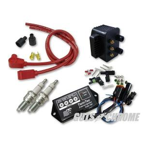Daytona Twin Tec ツインテック 9800-3135 8ピン独立点火コンバージョンセット 95-98BT 赤 90°