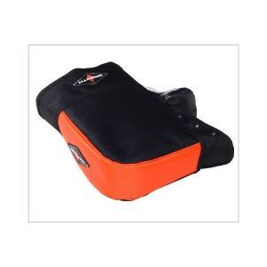 ハンドルカバー バイク リード工業 KS-209C 防寒・防水・防風 オレンジ スクーター系 フリー・Tイズ KS-209C|bikeman4mini