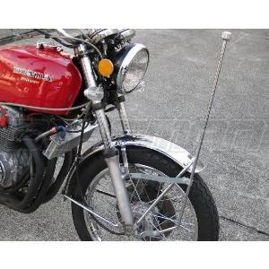 旗棒 730ミリ ゼファー400 バリオス ZRX400 ジェイド ホーク2 XJR400 CB400SF インパルス イナズマ GS400|bikeman