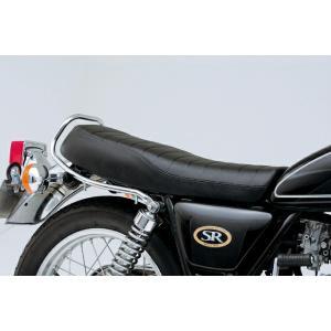 デイトナ 41894 COZY コージー シート (シートベース付キ)ロングライトロー ロール SR400/500(80-08) bikeman