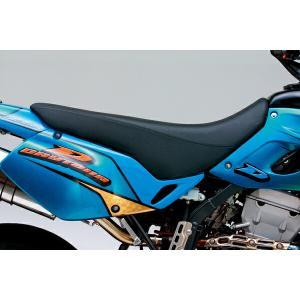 デイトナ 47084 COZY コージー シート X-HIGH(ブラック)コンプリート/D-トラッカー KLX250 bikeman