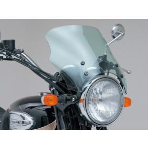 デイトナ 62485 ブラストバリアー ブラストバリアーX/エアロバイザー用ステー/W650 bikeman