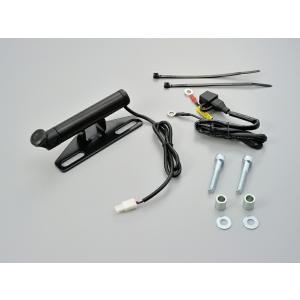 デイトナ 93381 マルチバーUSB電源5V2.1A ハンドルポストクランプタイプ ショート サイ...