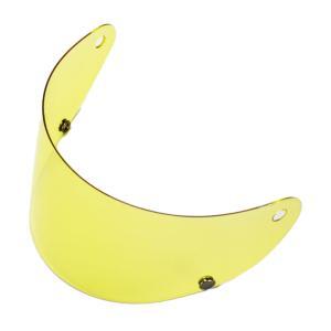 GT750 ヘルメット 族ヘル ノスタルジック GT-750 専用 ヘルメットシールド イエロー ノスタルジック GT750 専用 ヘルメットシールド イエロー bikeman
