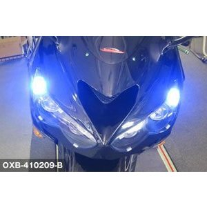 ODAX オダックス OXB-410209-B ポジション用LEDバルブ T10ウェッジ ブルー (2個/set) bikeman